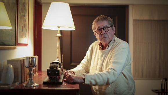 Alfredo Bryce Echenique publica 'Permiso para retirarme. Antimemorias 3' y anuncia su despedida literaria. (Fotos: Hugo Pérez)