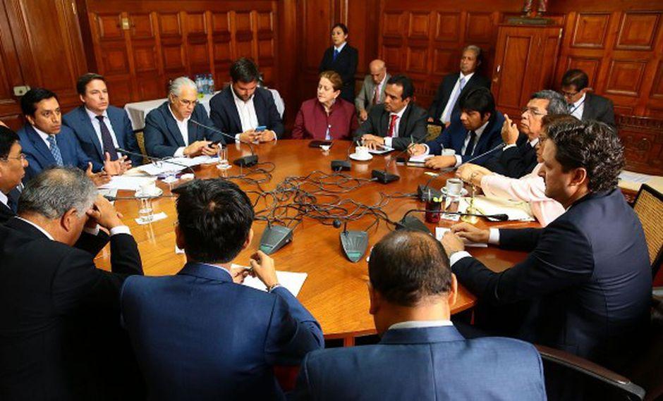 Junta de Portavoces se reunirá este lunes en la Sala Basadre del Palacio Legislativo. (Foto: GEC)