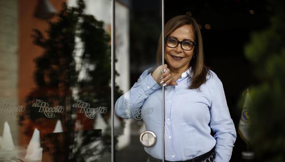 """""""En lugar de ayudar, nos están matando"""". La presidenta de Ahora Perú explica cómo afectó el confinamiento al sector gastronómico. FOTO: RENZO SALAZAR"""