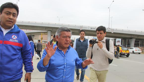 Líder de APP, César Acuña, hoy en día decisivo.