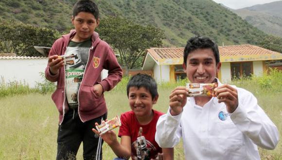 Julio Garay, el joven ingeniero creador de galleta que combate la anemia en 30 días.