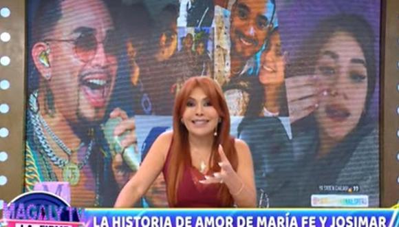 Magaly Medina le envía mensaje a María Fe Saldaña tras anunciar su embarazo. (Foto: Captura de video)