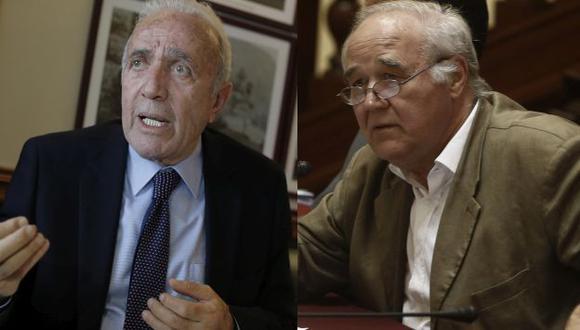 Guido Lombardi y García Belaunde tuvieron acalorada discusión en vivo y rompieron su amistad. (USI)