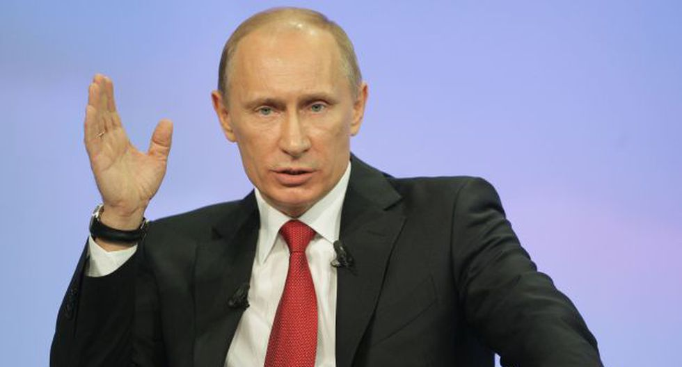 Vladimir Putín ordenó que recursos provenientes de Occidente sean quemados. (AP)