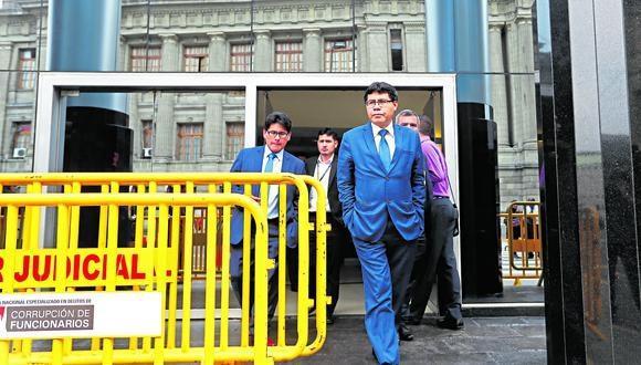 El fiscal Germán Juárez investiga a Martín Vizcarra. (GEC)