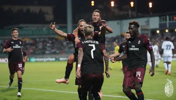 Gonzalo Higuaín llegó a AC Milan en condición de préstamo procedente de Juventus. (Foto: AC Milan)