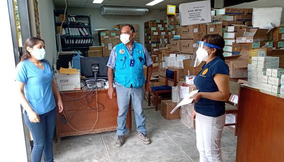 Piura: intervienen almacén de la Diresa por presuntas irregularidades en entrega de medicamentos.