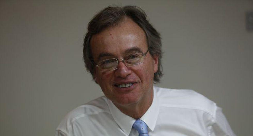 Ministro Carlos Basombrío está entusiasmado de presentarse ante el Congreso. (Perú21)
