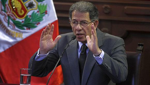 Urviola habló también sobre los bonos agrarios. (Mario Zapata)
