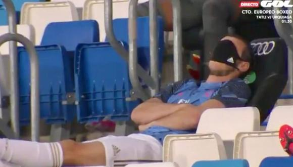 Gareth Bale fue suplente en la victoria por 2-0 de Real Madrid ante Alavés. (GOL)