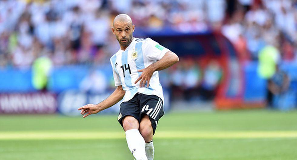 Con Mascherano en cancha, Argentina cayó ante Francia en Kazán y quedó eliminada del Mundial. (GETTY)