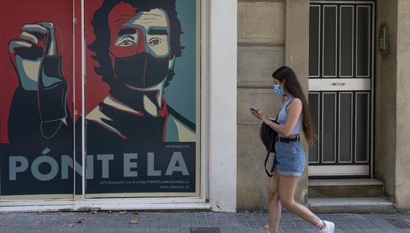 La enfermedad está conociendo una segunda oleada. Pero la mortalidad es muy inferior a la observada en el momento álgido de la pandemia en España. (Foto: Josep LAGO / AFP)