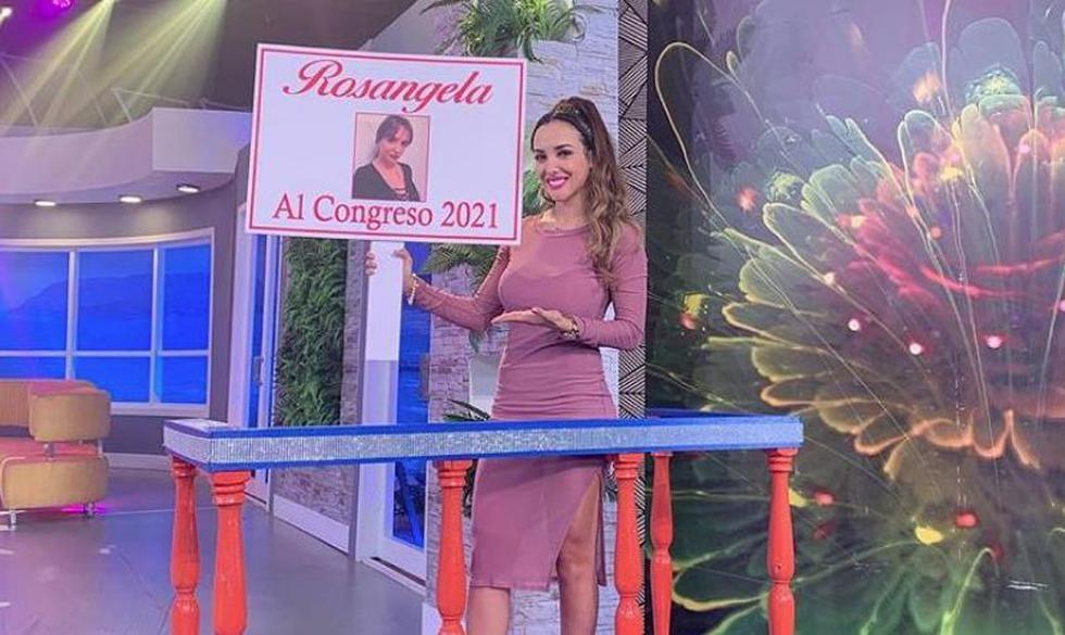 Rosángela Espinoza se alista para postular al Congreso. (Instagram)