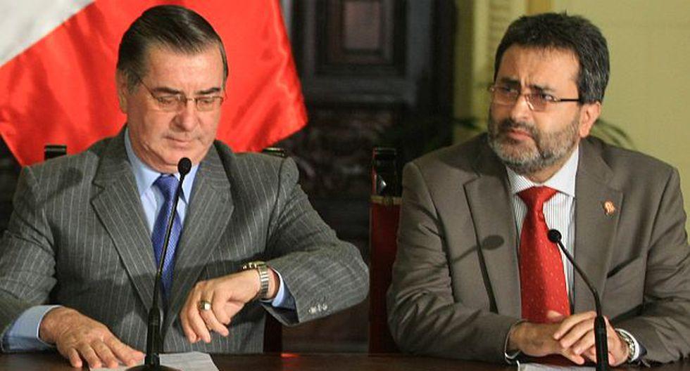 Juan Jiménez negó que al Gobierno le falte autoridad. (Luis Gonzales)