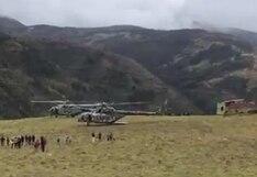Descartan que aterrizaje de helicóptero que trasladaba a Martín Vizcarra se debiera a una emergencia