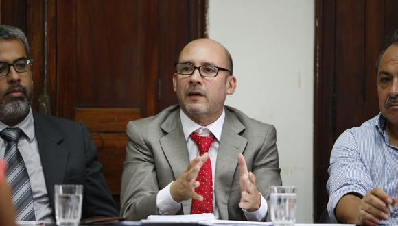Christian Sánchez, ministro de Trabajo. (Foto: GEC)