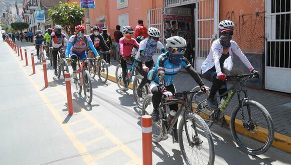 Medida beneficiará a ciudadanos de Chachapoyas, Huancavelica, Maynas, Trujillo y Tarapoto, quienes podrán trasladarse con seguridad en bicicleta.
