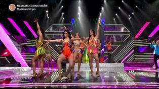 Reinas del show: Alma Bella cantó en vivo en enfrentamiento grupal por dos puntos extras