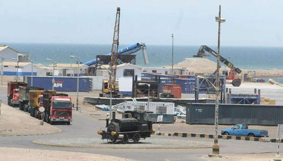 PAUSA. Modernización del Puerto de Pisco sigue en espera. (Difusión)
