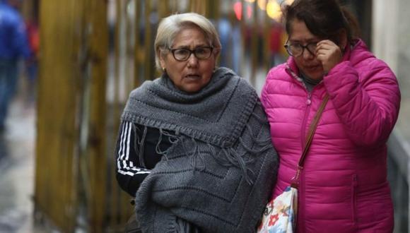 Las bajas temperaturas continúan en Lima durante el invierno. (Foto: GEC)
