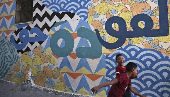 UNRWA brinda servicios y asistencia a más de 5,4 millones de refugiados palestinos en Cisjordania, incluido Jerusalén Este, Gaza, Jordania, Líbano y Siria.  (Foto: AFP)