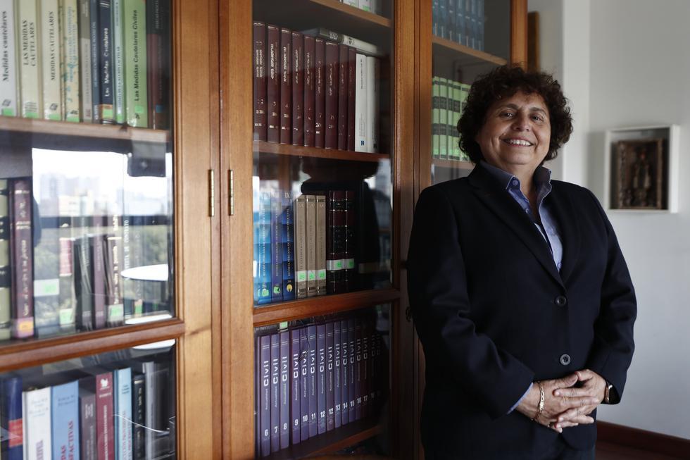 """Susel Paredes afirmó que con """"exdelincuentes no se combate la delincuencia"""", y por ello la Municipalidad de La Victoria procedió con el despido de un grupo de serenos. (GEC)"""
