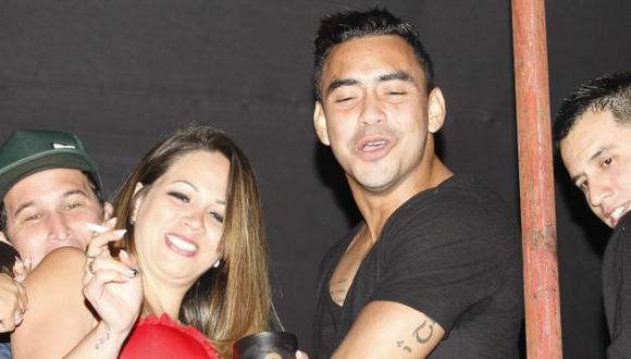Diego Chávarri niega haberse entrometido en la relación que tenía Jefferson Farfán con Melissa Klug. (USI)