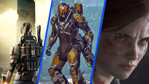 Presentamos un resumen de los mejores videojuegos para este año 2019 que recien comienza.