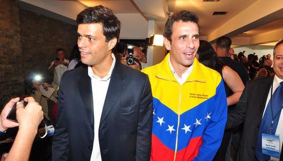 Padre de Leopoldo López descalifica rechazo de Henrique Capriles a estrategia contra régimen de Nicolás Maduro. (Noticias24.com)