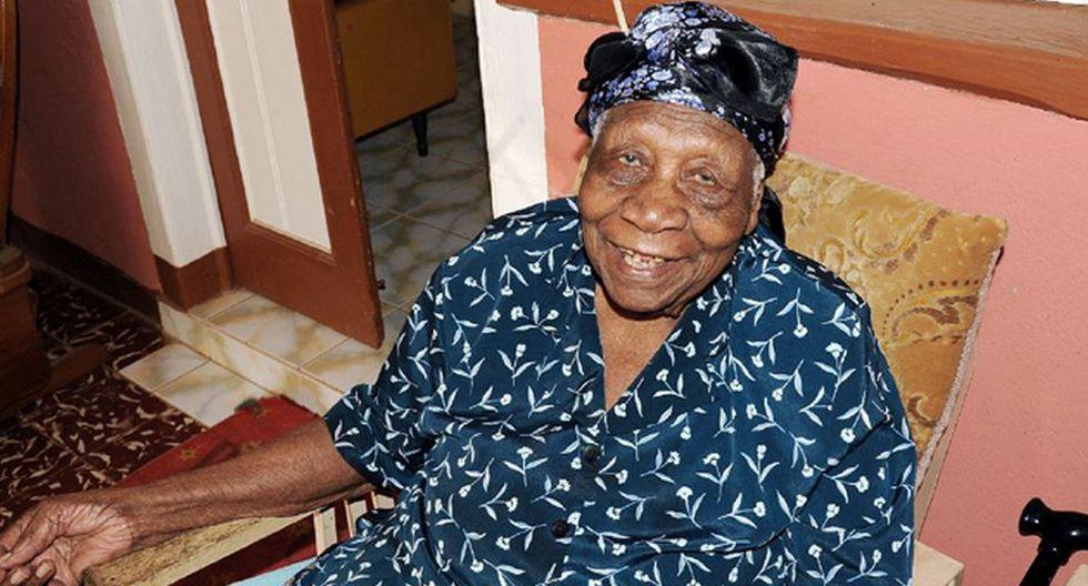Violet Brown, 117 años, Jamaica (Jamaica Gleaner)