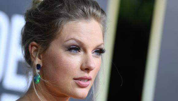 """Taylor Swift presentó la nueva versión de su álbum """"Fearless"""". (Foto: VALERIE MACON / AFP)"""