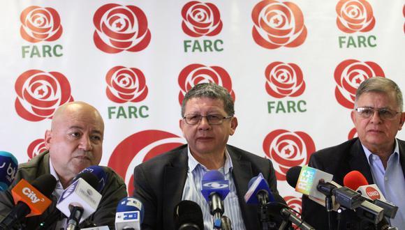 Ex guerrilleros buscan blindar el acuerdo de paz que se encuentra en la mira de políticos en campaña (AFP).
