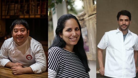 Misha Tsumura, Arlette Eulert y Virgilio Martínez son tres de los ganadores en esta edición. (Perú21)