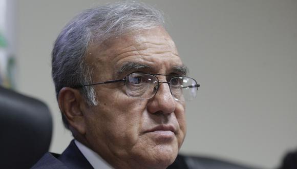 El ex presidente de la Corte Suprema, Hugo Sivina, también es miembro del grupo de trabajo. (Perú21)