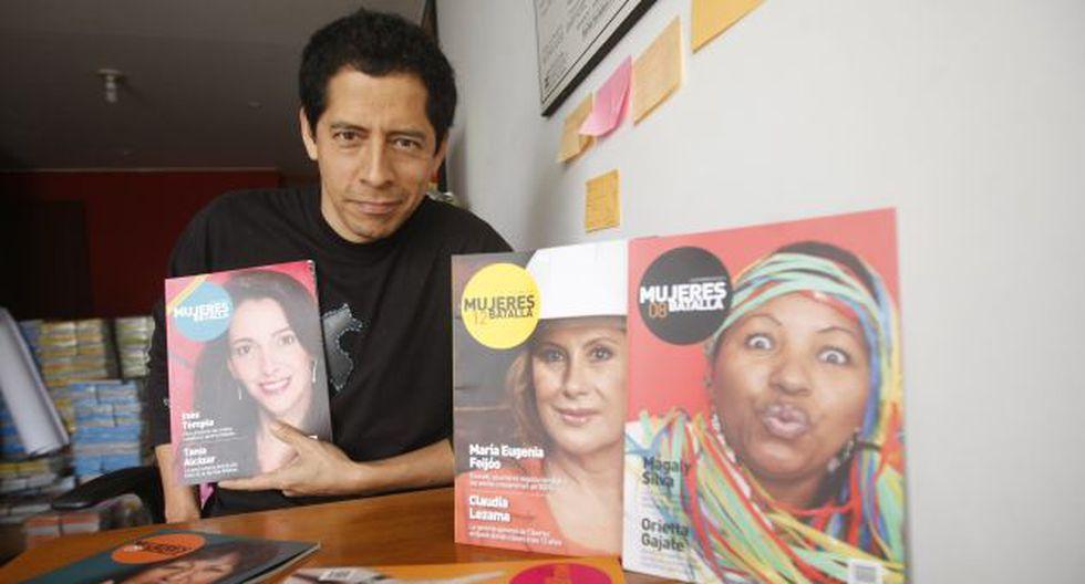 5 mil ejemplares de la revista se venden al mes. (Mario Zapata)