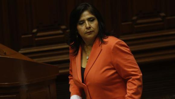 Ana Jara retrocedió en su propuesta ante los cuestionamientos de Carmen Omonte. (Perú21)