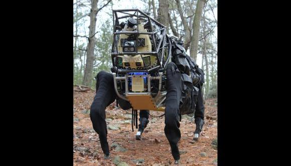 Alpha Dog, prototipo capaz de cargar 180 kilos, será empleado por los marines de Estados Unidos. (USI)