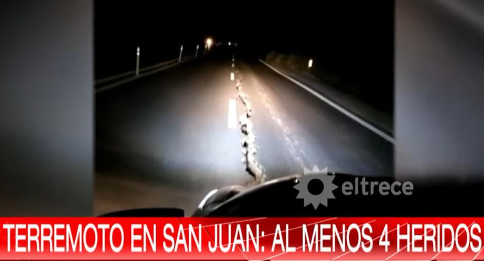 Tras el sismo más fuerte, ciudadanos no tardaron en reportar a través de los medios de comunicación y las redes sociales cortes de luz, desperfectos en casas y comercios y grietas en alguna carretera. (Captura de video/YouTube).