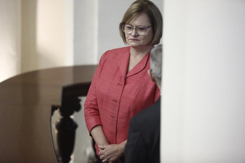 La primera dama de la Nación todavía no se pronuncia en torno a la renuncia de PPK. (César Campos/Perú 21)