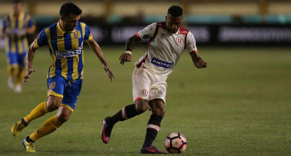 Universitario de Deportes perdió en el global 4 a 3 antes Capiatá en el 2017. (USI)