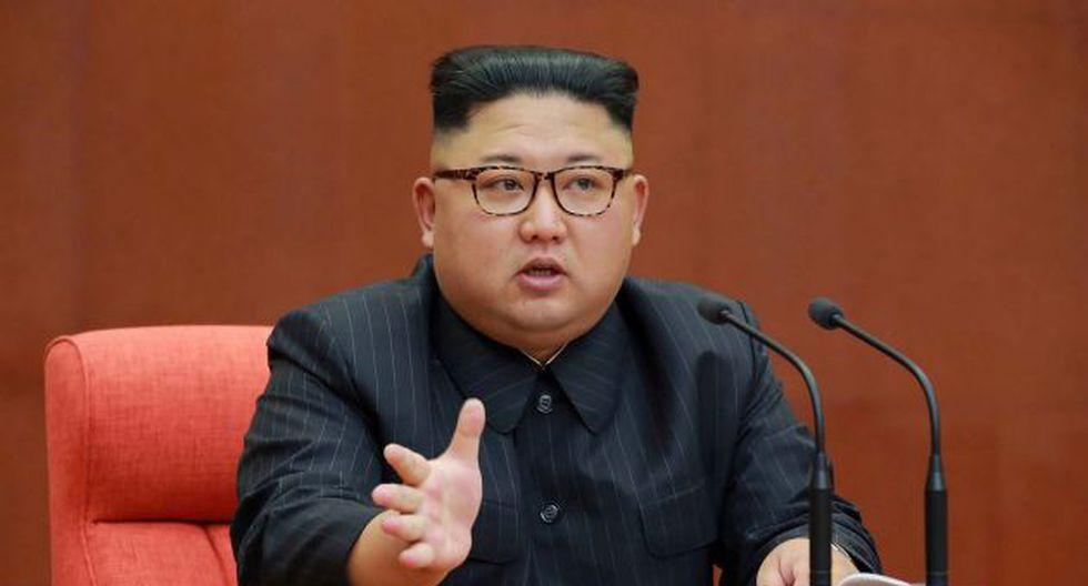 Kim Jong-un , líder de Corea del Norte (AFP).