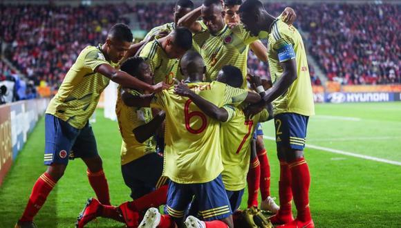 Colombia y Senegal lideran el grupo A con tres unidades. (Foto: @FCFSeleccionCol)