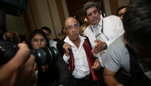 Ratifican sentencia de prisión efectiva para el congresista Edwin Donayre. (Foto: Anthony Niño De Guzmán / GEC)