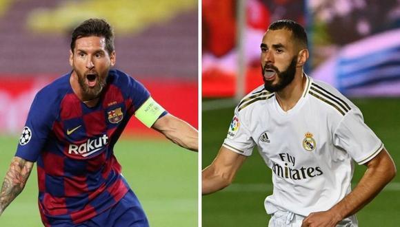 Barcelona vs. Real Madrid: alineaciones confirmadas de ambos equipos para enfrentar el partido por LaLiga Santander. (Foto: Agencias)