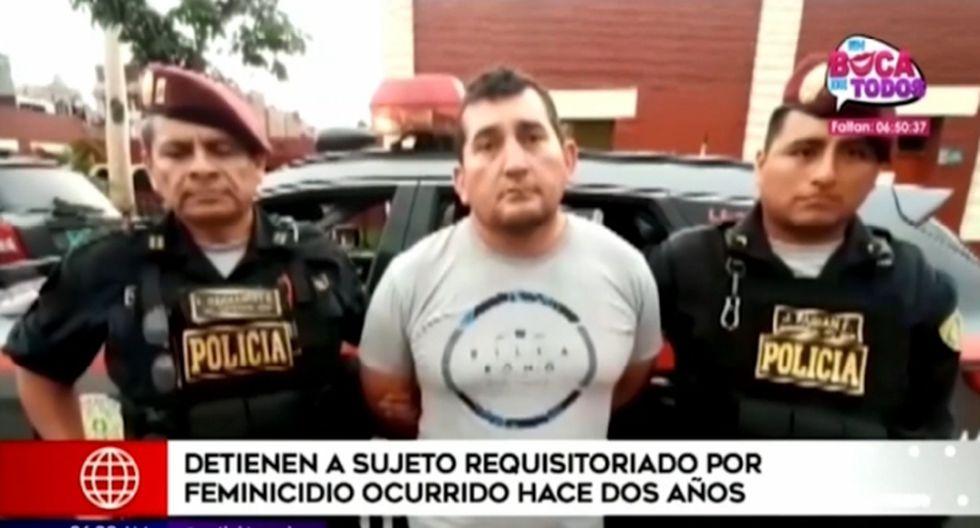 David Ortiz Valdivieso fue capturado por la policía el último domingo, en La Victoria. (Foto captura: América Noticias)