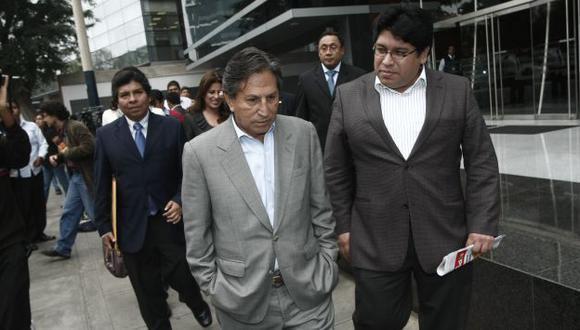 LA PISTA DEL DINERO. Fiscales buscan establecer real grado de participación de Toledo en el caso. (César Fajardo)