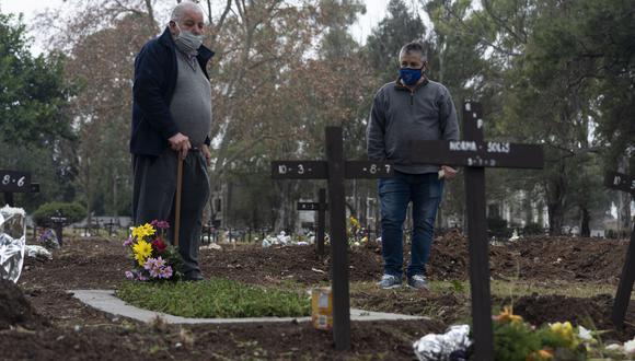 Argentina supera los 100.000 muertos por coronavirus. (Foto: AP).