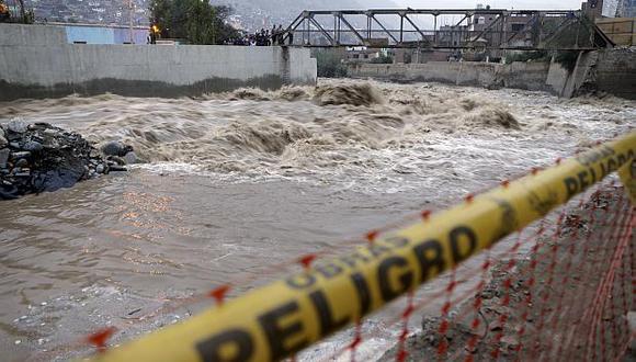 Alertan sobre 57 puntos críticos a los largo del río Rímac ante temporada de lluvias. (Foto: GEC)