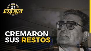 Cremaron restos del genocida Abimael Guzmán