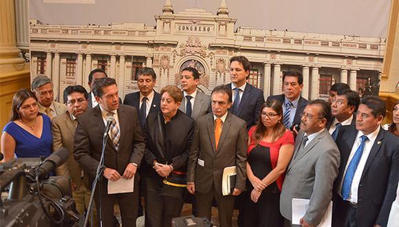 Fuerza Popular se pronunció sobre aprobación de la reforma dek CNM en el Congreso. (Foto: Agencia Andina)